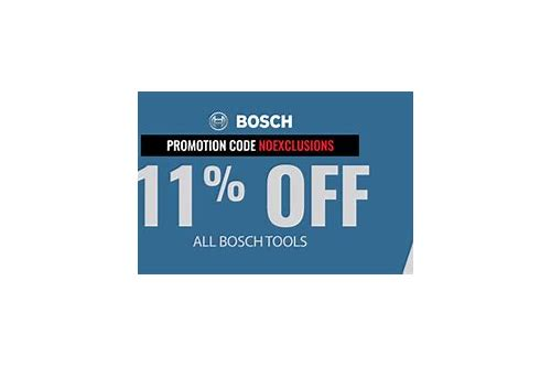 coupon for bosch tools