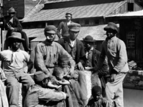 part 1 hear former slaves speak youtube