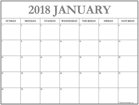 january 2018 free download and printable calendar