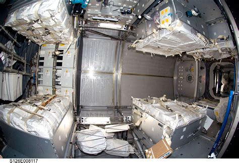 International Space Station Interior by International Space Station Interior Sleeping Quarters