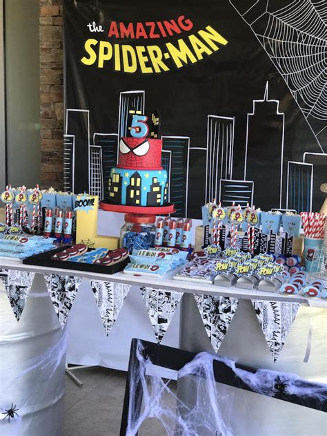 Karas Party  Ee  Ideas Ee   The Amazing Spiderman  Ee  Birthday Ee   Party