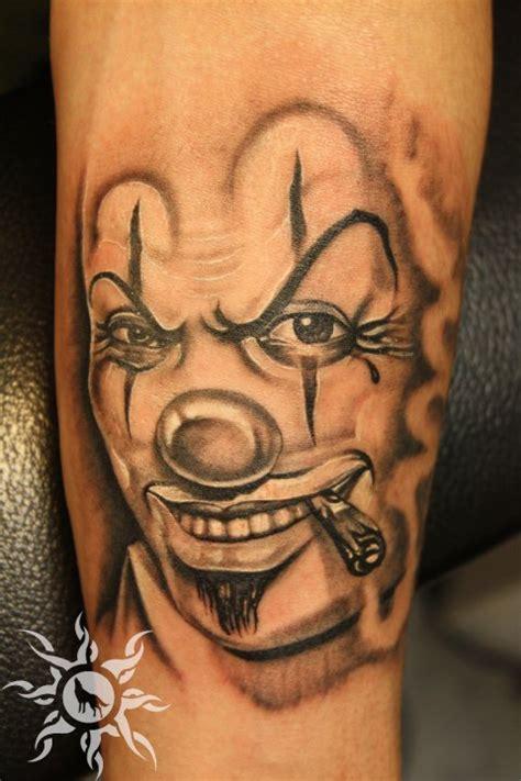 clown sleeve tattoo designs 70 awesome clown tattoos