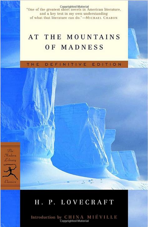 At The Mountains Of Madness And Other Stories 1 the 20 horror books every fan should read blastr