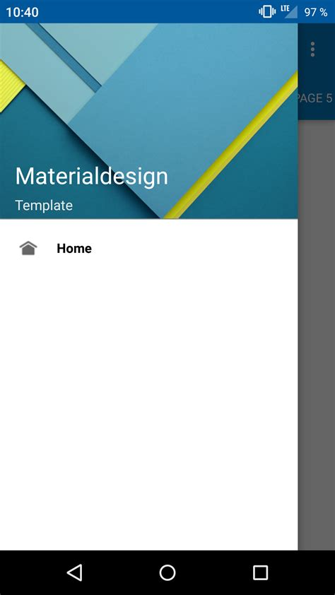 material design menu github github soyoungboy android material design open source