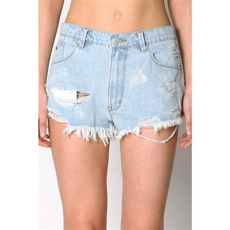 Denim Cutoff res denim tiny dancer womens shorts cutoff
