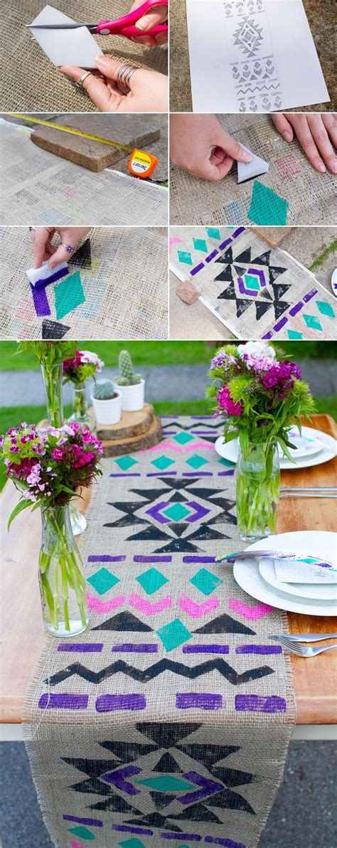 diy chiffon table runner 25 best ideas about aztec party dresses on pinterest