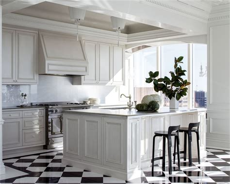 Kitchen Floor Band Black And White Kitchen Floor Tiles Felish Home Project