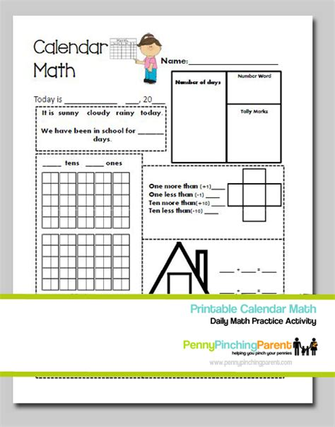 printable kindergarten calendar worksheets kindergarten calendar worksheets smartboard daily