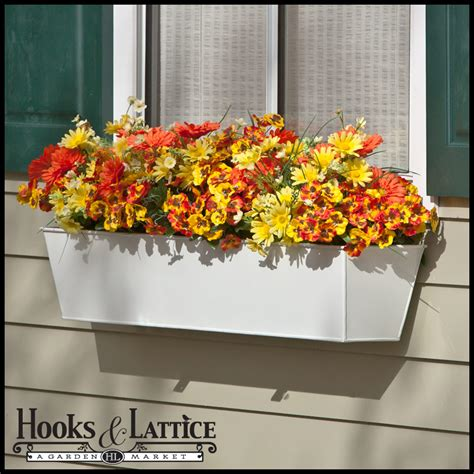 plastic window flower boxes metal plastic window box liners outdoor planter box