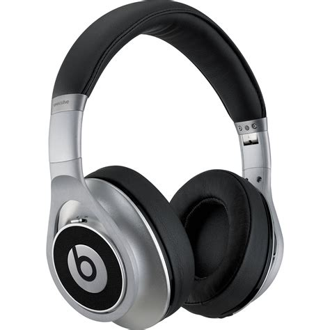 Beats By Dre Executive Headphones | beats by dr dre executive headphones silver mh6w2am a b h