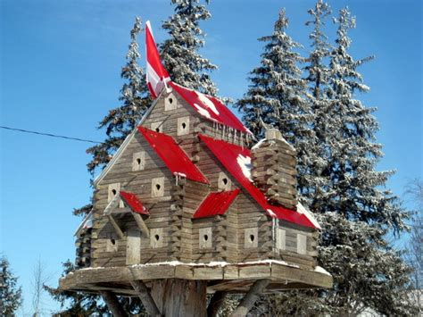 luxurious birdhouses await our feathered friends in canada