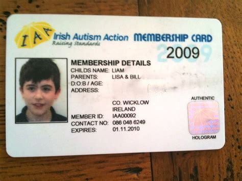 autism id card template doctor id badge template