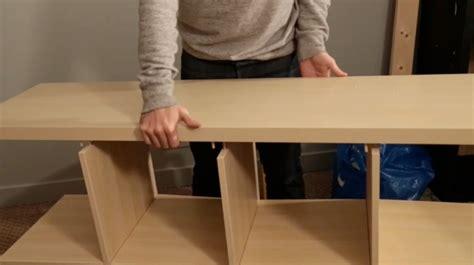 DIY : Fabriquer un meuble TV à partir d'une étagère ikea