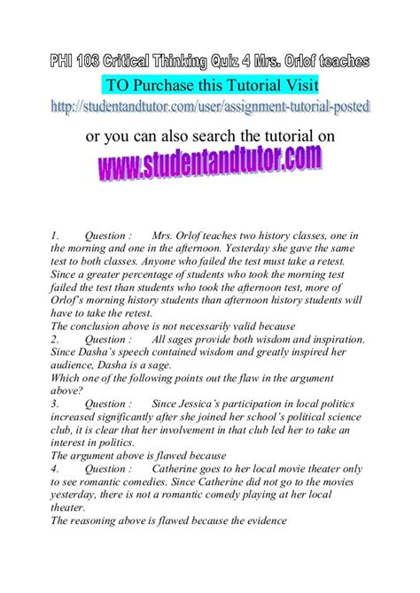 pattern completion critical thinking questions critical thinking quiz for phi 103 shankla by paves