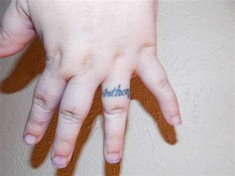 tattoos on fingers 34 wedding finger tattoos