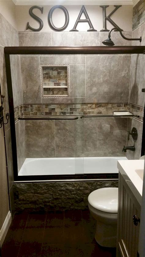 Remodel Ideas For Small Bathrooms 55 Cool Small Master Bathroom Remodel Ideas Master Bathrooms House And Bath