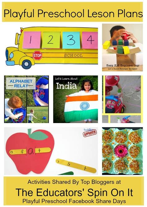 6 preschool weekly lesson plans accept rejection sample sample