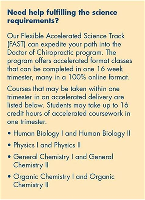 Slu Mba Requirements by Doctor Of Chiropractic Requirements To Enroll Logan