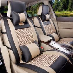 Car Seat Covers For Sale In Townsville Universal Luxury Leather Black Beige Car Seat Cover 5