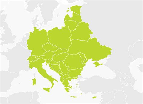 map of central europe map of central and eastern europe tomtom