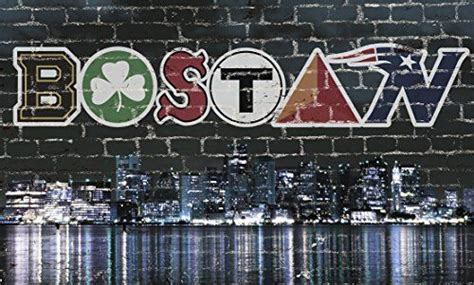 boston skyline sports 38 quot x 23 quot chicago walls