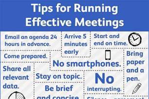 how to have and run an effective meeting brandongaille com
