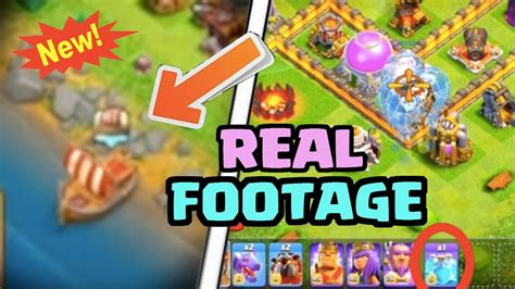clash of clans boat gameplay quot boat update quot actual gameplay leaked not clickbait