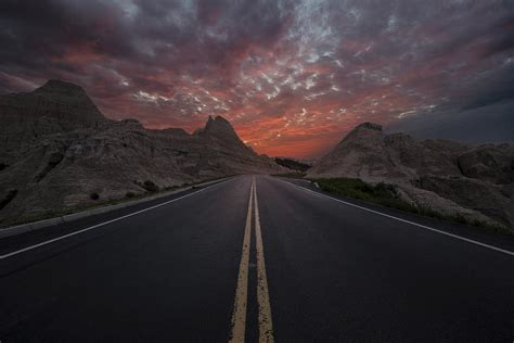 Botchaluna The Road To Nowhere road to nowhere badlands photograph by aaron j groen