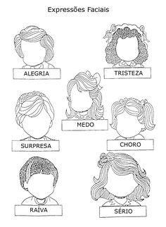 Coloriage Visage d'une fille aux cheveux longs sans traits