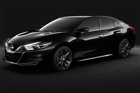nissan maxima 2017 black 2017 nissan maxima all blacked out for special package