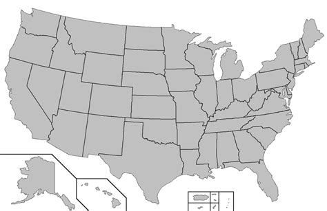 blank map of the usa file blank map of the united states png wikimedia commons