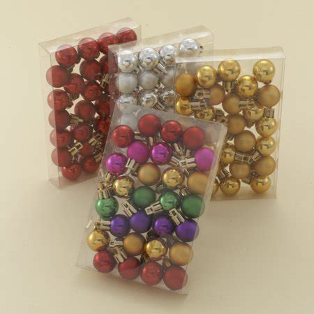 walmart ornaments pack club pack of 1008 miniature shatterproof ornaments 0 8 quot 20mm walmart