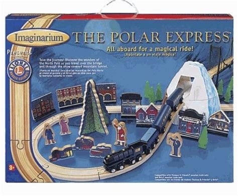 brio polar express wooden train set brio set polar express pinterest