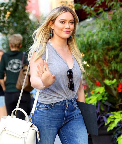 2017 07 24 hillary vaughn womens dresses ladies hilary duff in tight jeans nyc 06 27 2017