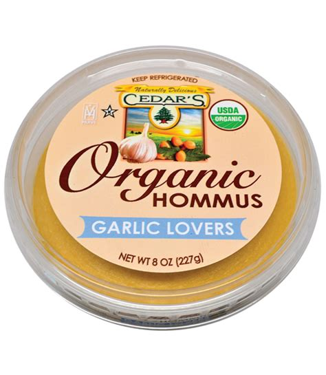 Easy Diy Bedroom Cedar S Organic Garlic Lovers Hummus Review