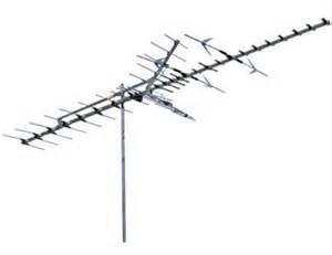 home antenna range outdoor tv antenna vhf uhf fringe extended hd