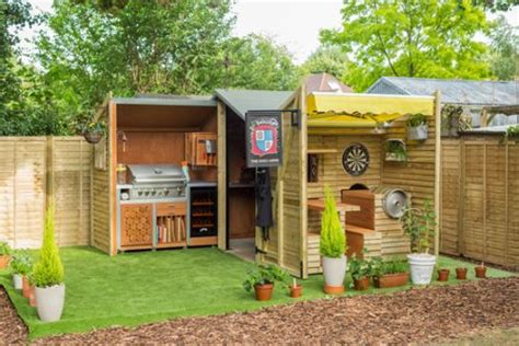 Ultimate Backyard Bbq House Is This The Ultimate Shed Lbbonline