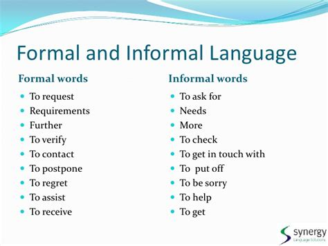 Useful Phrases For Informal cs prep 1 understanding a conversation tool 1 fl 2 dna4ias