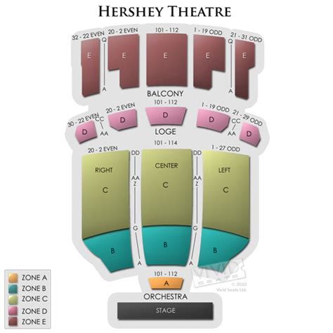 hershey theatre seating capacity 500px