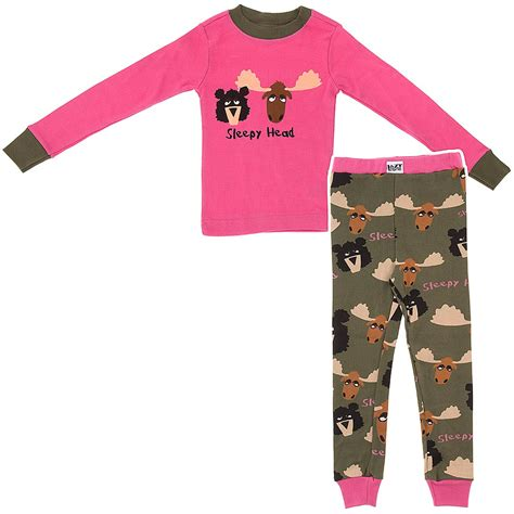 lazy on lazy one sleepy heads cotton pajamas for
