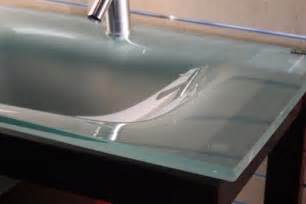 Tempered Glass Vanity Top With Integrated Sink 31in Frosted Glass Vanity Replacement Counter Top