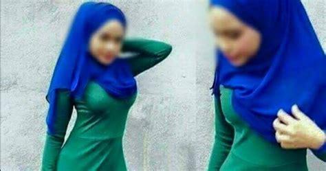 berita tv malaysia perghhh kini viral inilah wajah sebenar gadis yg menggayakan jubah bogel