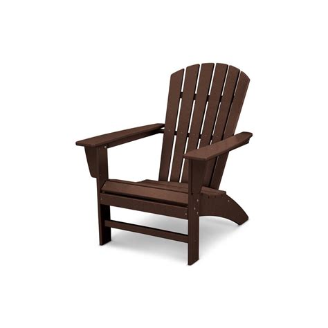 wood adirondack chairs massachusetts polywood traditional curveback adirondack chair in