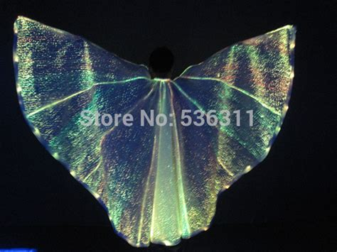 Wings Low Led 1 2017 led costumes fashion belly led wings belly wings luminous wing carnival