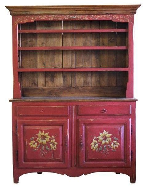 Country China Cabinet Hutch by Pre Owned Country Style China Hutch Modern China
