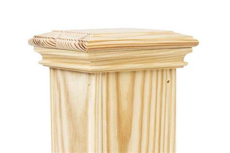 perennial wood post wraps professional deck builder
