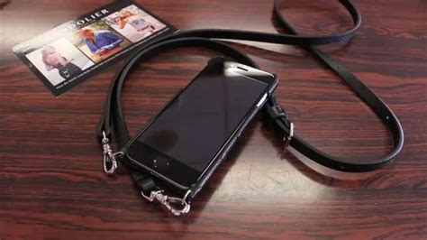 iphonepurse bandolier emma silver case iphone  review youtube