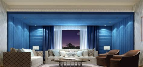 Home Design Interior Hall by Interior Design 3d Blue Concert Hall