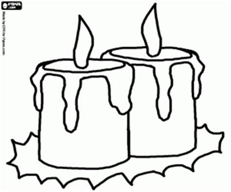 imagenes de velas navideñas para dibujar juegos de velas navide 241 as para colorear imprimir y pintar 2