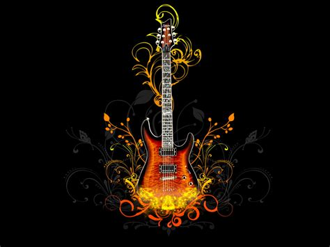 electric house music cool guitar wallpapers emo fashion